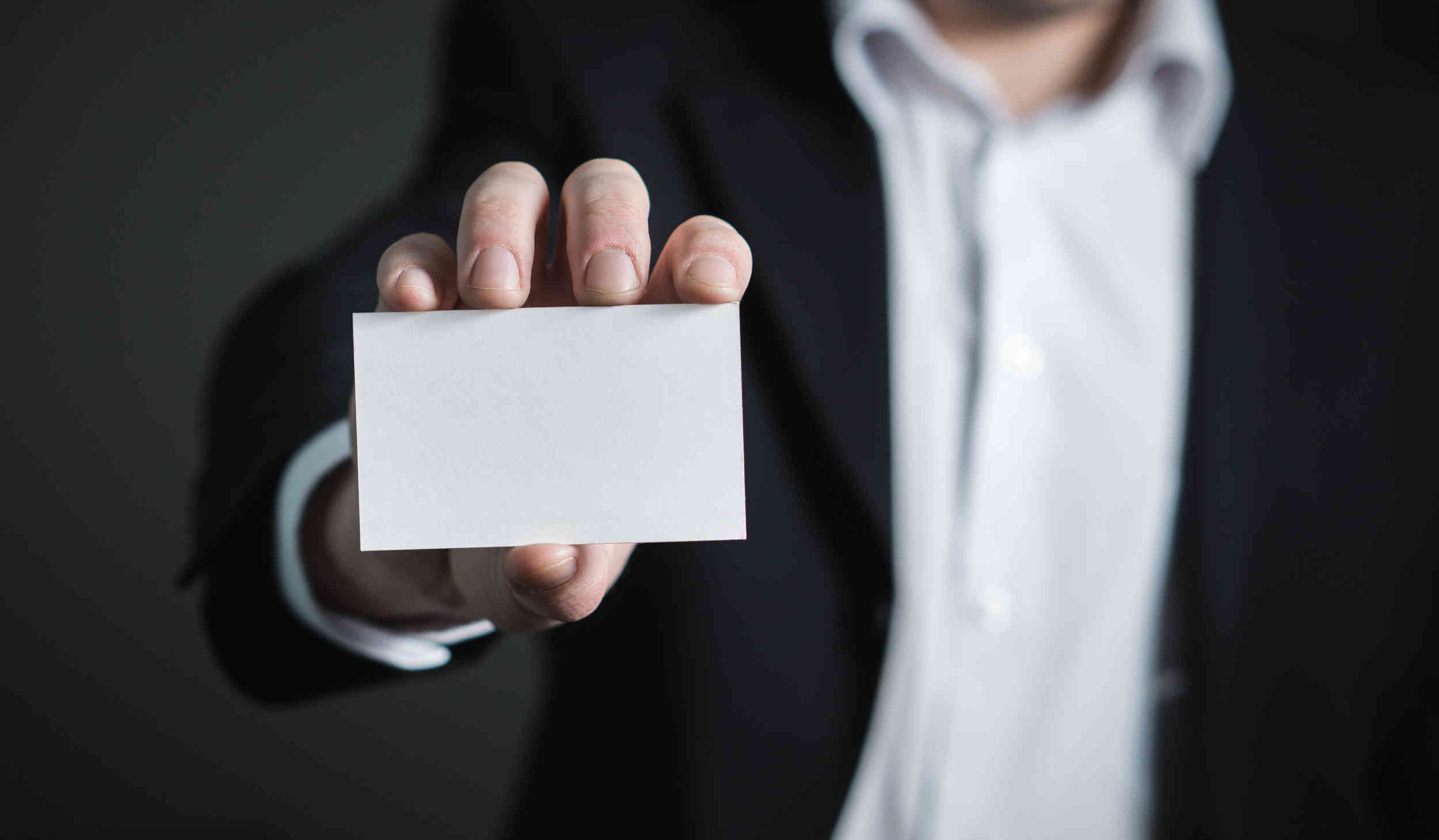 Rules when you get a business card - NC Business Blog